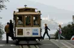 Cable Car Line Goes Off Line