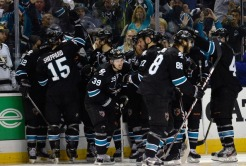 Sharks Win Game 3 in OT