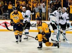 Predators Outlast Sharks in Triple Overtime, Series Tied 2-2