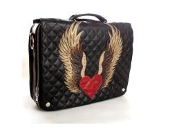 Wild Card Winged Heart Computer Bag