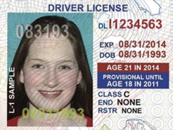 Under 21? Check Out Your New Driver's License