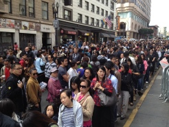 UNIQLO Opens To Adoring Crowd
