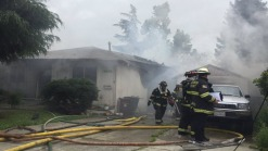 Firefighters Knock Down San Leandro House Fire