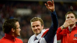 David Beckham Plays Emotional Final Match