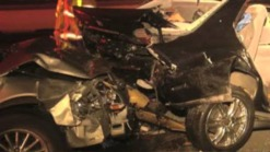 Driver Dies After Vehicle Rear Ends Crane