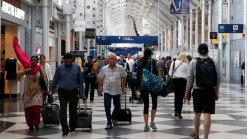 Holiday Travelers Get Break From Long Airport Lines
