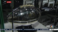$12,000 Silver Footballs Up for Auction at NFL Experience