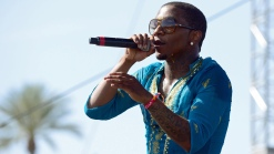 Rapper Lil B Hosts New Years Eve Party