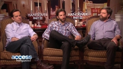 Heather Graham Grills Bradley Cooper, Ed Helms & Zach Galifianakis
