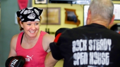 At This Gym, Boxers Fight More Than People