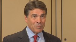 Why Texas Gov. Rick Perry Was in Calif.