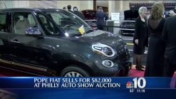 Pope's Philly Fiat Auctioned for $82,000
