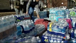 3 Semis Filled with Water Donations for Flint, Michigan Residents