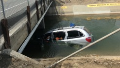 Driver Rescued From Vehicle in Fairfield Canal