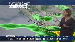 Kari Hall's Friday Forecast: Scattered weekend rain