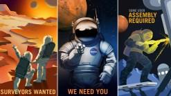 Mars Explorers Wanted: See NASA's Recruitment Posters