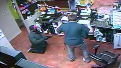Caught on Video: Gunman Demands Cash at Fuel Station