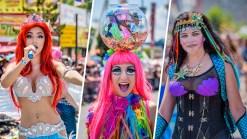 Mermaids Strut Their Stuff on Coney Island