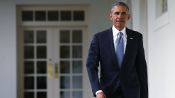 Obama Back in Ill. on Presidential Announcement Anniversary