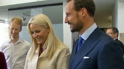 Norway Royalty Visits Silicon Valley