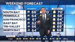Jeff's Forecast: Chilly 60s, Rain Chance & Sierra Snow