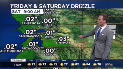 Jeff's Forecast: Spotty Drizzle & Cooler