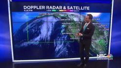 Jeff's Forecast: Next Rain Chance