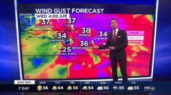 Jeff's Forecast: Rainy & Windy Morning