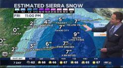 Jeff's Forecast: Rain & Sierra Snow