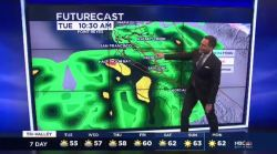 Jeff's Forecast: Tuesday Rain & SB 50