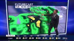 Jeff's Forecast: Tuesday Rain & SB 50