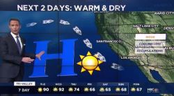 Jeff's Forecast: Hotter 90s & Shower Chance This Week