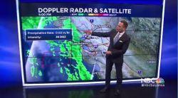 Jeff's Forecast: Early Saturday Rain