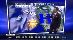 Jeff's Forecast: Near 80 Degrees