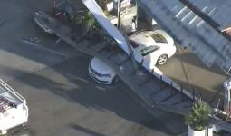 Caught on Video: Gas Station Roof Collapses on Cars in SoCal