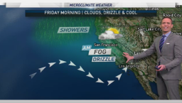 Jeff's Forecast: AM Drizzle and Fog; Warmer Soon