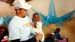 Stephen Curry Vists White House for Malaria Initiative