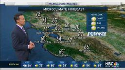 Rob's Forecast: Showers Ending, Big Warmup Ahead