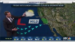 Jeff's Forecast: Inland Heat and Cooling Ahead