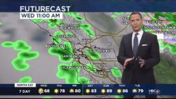 Jeff's Forecast: Rain Chance & Hotter Weekend