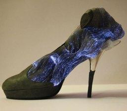 Gorgeous Illuminated Fiber Optics Shoes