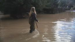 No Boats Needed: Guerneville Residents Walk Around Town After Russian River Flood Levels Drop