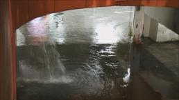 Water Main Break Floods Into Moscone Center, Subway