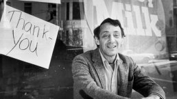 1st Openly Gay US Official Remembered on Harvey Milk Day