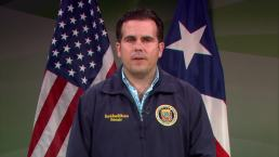 Puerto Rico Governor Addresses the Nation Ahead of Hurricane