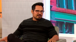 Michael Pena Talks Trying to Lose Weight With Harry