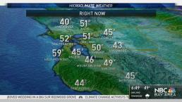 Bay Area Weather Forecast: Cool 40s to 50s