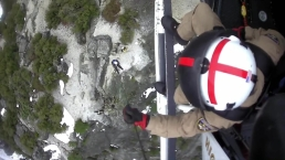 VIDEO: CHP Scenic Rescue of Two Hikers in Yosemite