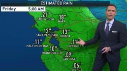 Jeff's Forecast: Cooler & Rain Chance