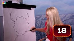 What Is Lindsey Vonn Drawing?